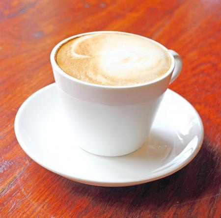 capuchino: taza de caf�