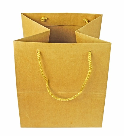brown Paper bag photo