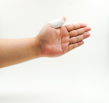splint: splint finger a broken bone hand Injured