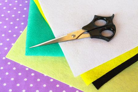 Set of sewing items, felt sheets set