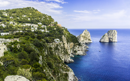capri: Capri island. Italy.