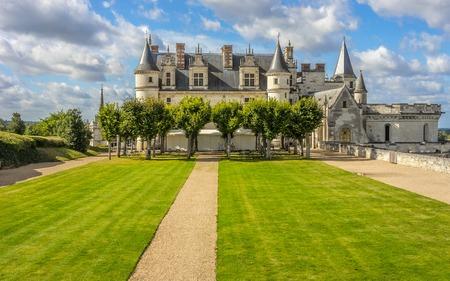 real renaissance: Amboise Castle, France.
