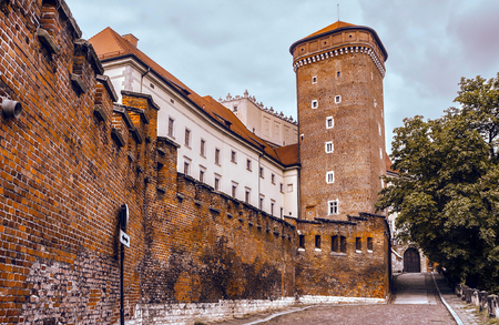 fastness: Wawel castle. Krakov, Poland.