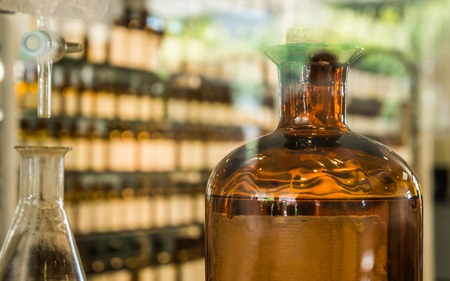 Perfume laboratory.
