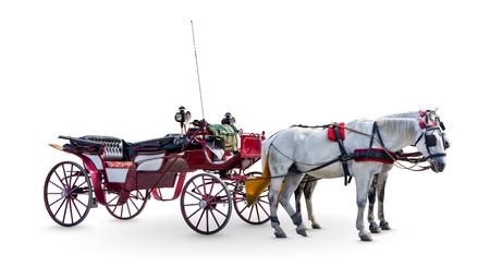 Horse Carriage 版權商用圖片