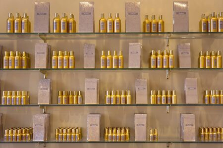 EZE VILLAGE, FRANCE, SEPTEMBER 20, 2012: Perfume facture Fragonard