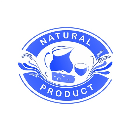 logo dairy products Stock Vector - 16900056