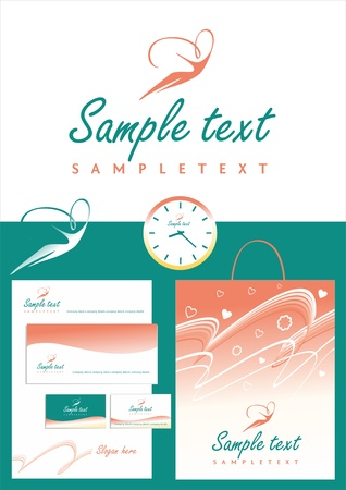 Logo and corporate   Stock Vector - 16931045