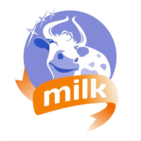Cow product Stock Vector - 16931051