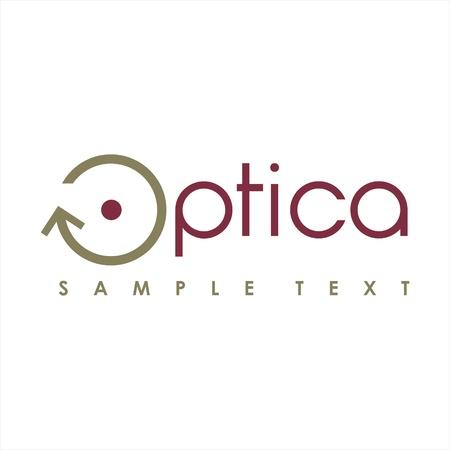 optics logo Stock Vector - 16931050