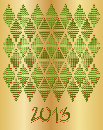 New year. Pattern Stock Vector - 16958616