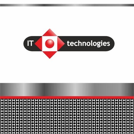 Identification of IT technology  Navigation Stock Vector - 17013233