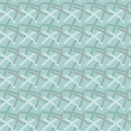 repeat structure: Geometric seamless pattern. Gray-blue textile repeat structure.