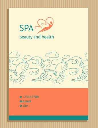 icon and identification. Aesthetics relaxation and spa. Woman Butterfly.