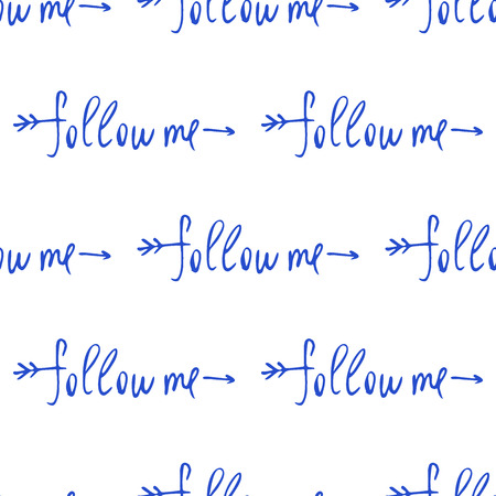 to commit: Followers. Social net. Vector illustration on cyan background