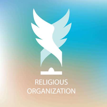 sociedade: organização religiosa da sociedade. Cúpula do templo, asas.
