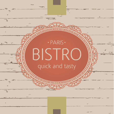 oval  alcohol: Template for bistros, cafes and restaurants. Openwork oval frame with text. Burgundy color. Vintage style.