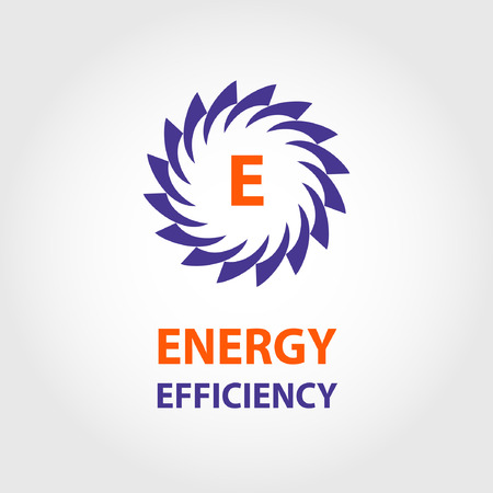 energy use: Vector, energy efficiency, eco energy, sun energy. A set of abstract refining of natural energy, transport and ecological use of natural resources.