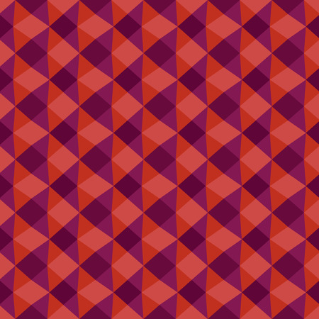 trendy tissue: Geometric triangle seamless texture.  Colorful red pattern of the fabric.