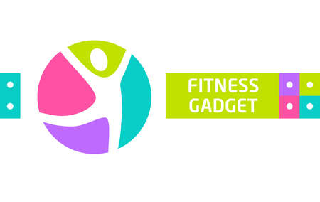 trainer device: Fitness gadget. Vector design elements for website advertising gadgets sports.  for the sports and fitness gadgets. An active lifestyle and sports.