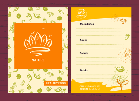 conservancy: Element design of corporate identity, banner, poster, card with  of trees and forests for safe ecology company. Environment and nature conservancy.