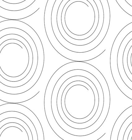 vector seamless background of spiral