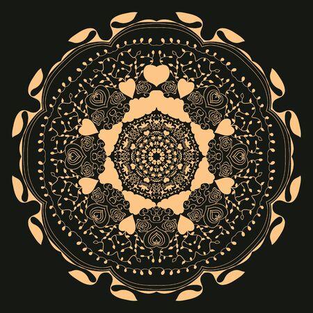 circular ornament, mandala Banque d'images - 149587670