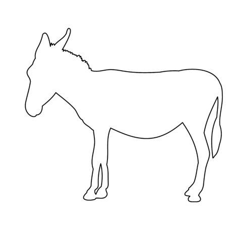 donkeys, sketch, it is worth