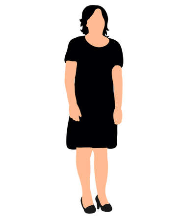 Woman silhouette vector illustration