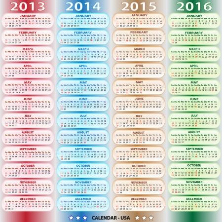 calendar 2013 Stock Vector - 14576934
