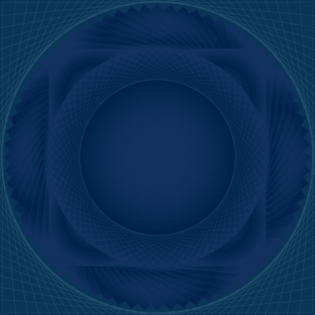 background in blue lines surround