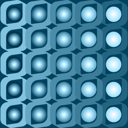 Blue vector background deceptive Illustration