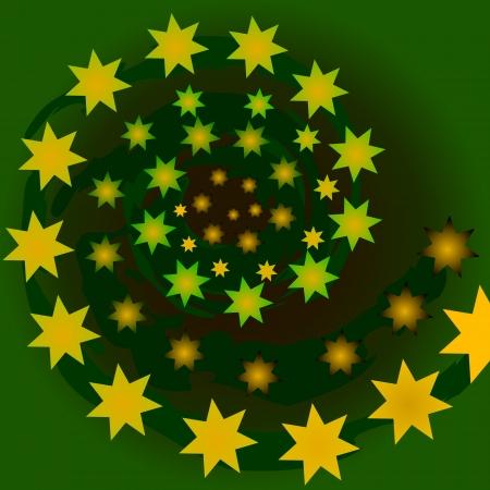 starlike: Vector illustration