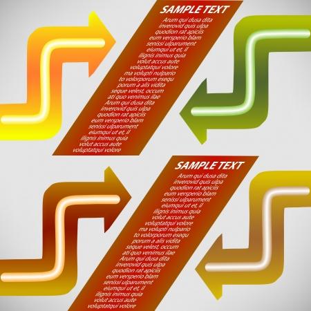 Arrows elements for design