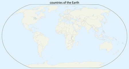 countries of the Earth. EPS 10 vector Illustration