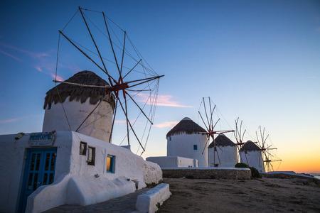 mykonos: Windmills of Mykonos, Greece