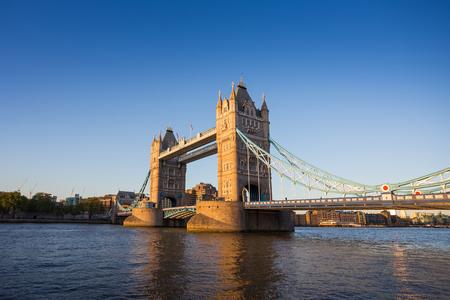 Tower Bridge at sunset, London, UK