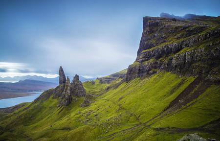 The Old Man of Storr, Isle of Skye, Scotland, UK 版權商用圖片