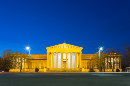 Museum of Fine Arts at blue hour - Budapest, Hungary