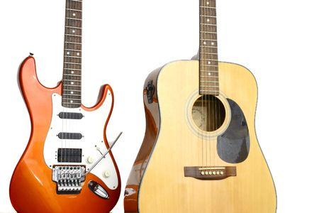 tremolo: Red chitarra acustica e uno in piedi insieme