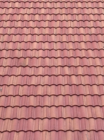 tile: Close up of house roof Stock Photo