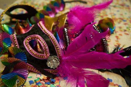 Masks carnival 스톡 콘텐츠