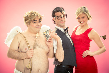 nerd: nerd find love by cupid arrow Help