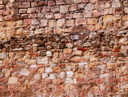|Old rock stone wall texture background