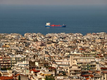 Panoramic view of Thessaloniki, Greece