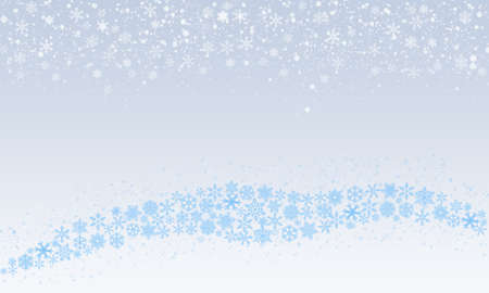 Winter holidays or Christmas background with   snowflakes 版權商用圖片