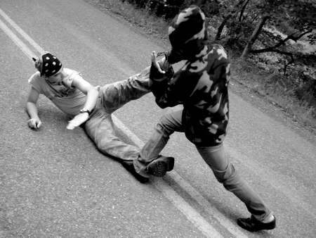 Karate Zdjęcie Seryjne