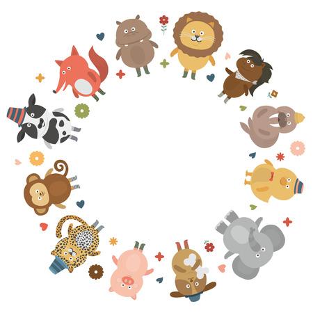 animal circleblank Çizim