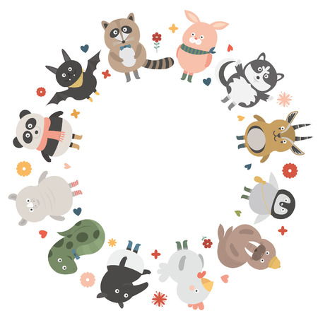 huskies: circleblank animales