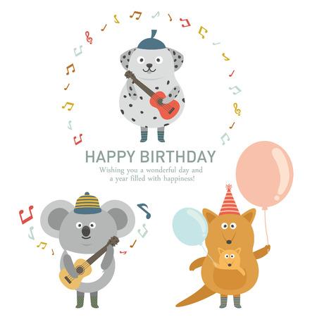 koala: Icono de la fiesta de cumpleaños